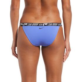 Nike Swim Logo Tape Banded Bikini Bottoms Women, blauw